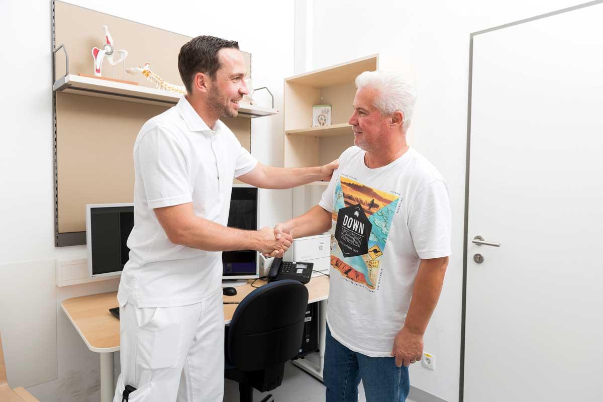 Beratungsgespräch mit Dr. Thomas Hoffelner